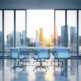 Moderner Büroinnenraum Stockbilder