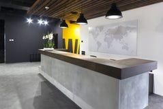 Moderner Büroinnenraum - Aufnahme lizenzfreie stockfotos