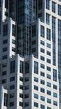 Moderner Bürowolkenkratzer stockbild