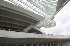 Moderner Bahnhof Liège-Guillemins Luik-Guillemins Lizenzfreie Stockfotos