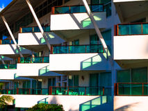 Moderner Balkon Lizenzfreie Stockfotografie