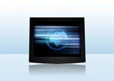 Moderner Bildschirm Stock Abbildung