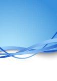 Moderner blauer High-Techer abstrakter Hintergrund Stockbilder