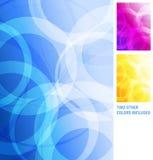 Moderner blauer purpurroter orange Gelb-Zusammenfassungs-Hintergrund Lizenzfreie Stockfotos