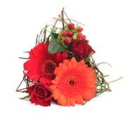 Moderner Blumenstrauß Stockbilder