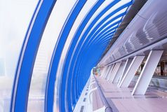 Moderner Brückeninnenraum Lizenzfreies Stockfoto