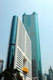 Moderner chinesischer Wolkenkratzer Stockfotos