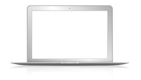 Moderner Computer auf weißem Hintergrund Lizenzfreie Stockfotografie