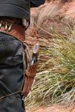 Moderner Cowboy Stockfotografie