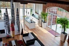 Moderner Dachboden Stockfotografie