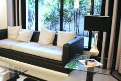 Moderner eleganter Raum Lizenzfreies Stockbild