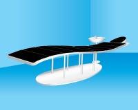 Moderner/futuristischer Zahnarzt-Stuhl Lizenzfreie Stockbilder