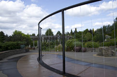 Moderner Gartenbrunnen Lizenzfreies Stockbild