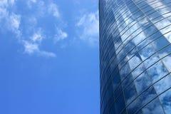 Moderner Gebäudehintergrund Stockbild