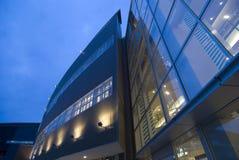 Moderner Gebäudehintergrund Stockfoto