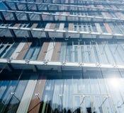 Moderner Gebäudehintergrund Stockfotos