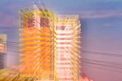 Moderner Gebäudezusammenfassungshintergrund stockbild