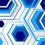 Moderner geometrischer abstrakter Hintergrund Lizenzfreie Stockfotos