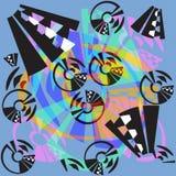 Moderner geometrischer abstrakter Hintergrund Lizenzfreie Stockfotografie