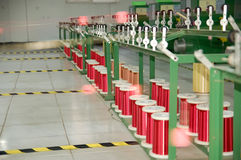 Moderner geplanter Fabrikfußboden im Porzellan Stockbilder