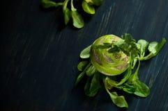 Moderner gesunder Lebensstil mit lokalem Lebensmittel Stockbilder
