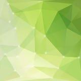 Moderner grüner abstrakter heller Hintergrund Stockfotos