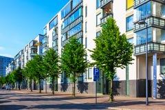 Moderner Grundbesitz Lizenzfreies Stockfoto