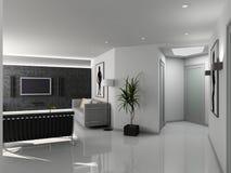 Moderner Hauptinnenraum. Stockbilder
