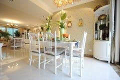 Moderner Hauptinnenraum mit Möbeln Stockfotografie