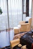 Moderner Hauptinnenraum mit Möbeln Lizenzfreie Stockbilder