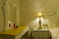 Moderner Hauptinnenraum mit Möbeln Lizenzfreie Stockfotografie