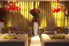 Moderner Hauptinnenraum mit Möbeln Stockfotos