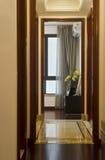 Moderner Hauptinnenraum mit Möbeln Lizenzfreies Stockfoto
