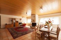 Moderner Hausinnenraum, Wohnzimmer stockbilder