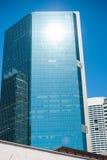 Moderner Highrise in der Stadt Stockfotografie