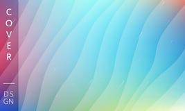 Moderner Hintergrund der blauen Wellen Memphis-Hintergrund Vektorentwurfsschablone f?r Plakat, Fahne oder irgendeine Abdeckung lizenzfreies stockfoto