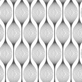 Moderner Hintergrund der Zahlen in Form von Birnen Stockbild