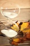 Moderner Hourglass Symbol der Zeit countdown Stockfotos