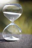 Moderner Hourglass Symbol der Zeit countdown Lizenzfreie Stockbilder