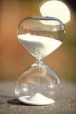Moderner Hourglass Symbol der Zeit countdown Stockbilder
