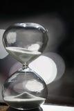 Moderner Hourglass Symbol der Zeit countdown Lizenzfreies Stockbild
