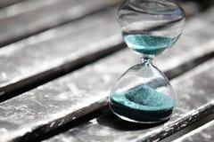 Moderner Hourglass Symbol der Zeit countdown Lizenzfreie Stockfotografie