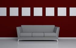 Moderner Innenaufbau Lizenzfreies Stockbild