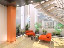 Moderner Innenraum. Stockbild