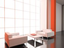 Moderner Innenraum. Lizenzfreies Stockfoto