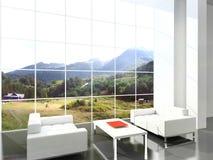 Moderner Innenraum Lizenzfreies Stockbild