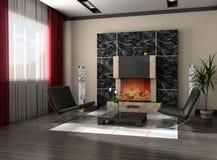 Moderner Innenraum Lizenzfreie Stockbilder