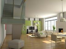 Moderner Innenraum Stockfoto