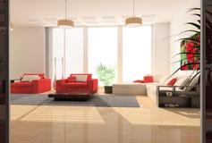 Moderner Innenraum Stockbilder
