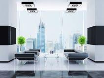 Moderner Innenraum einer Halle Lizenzfreies Stockfoto